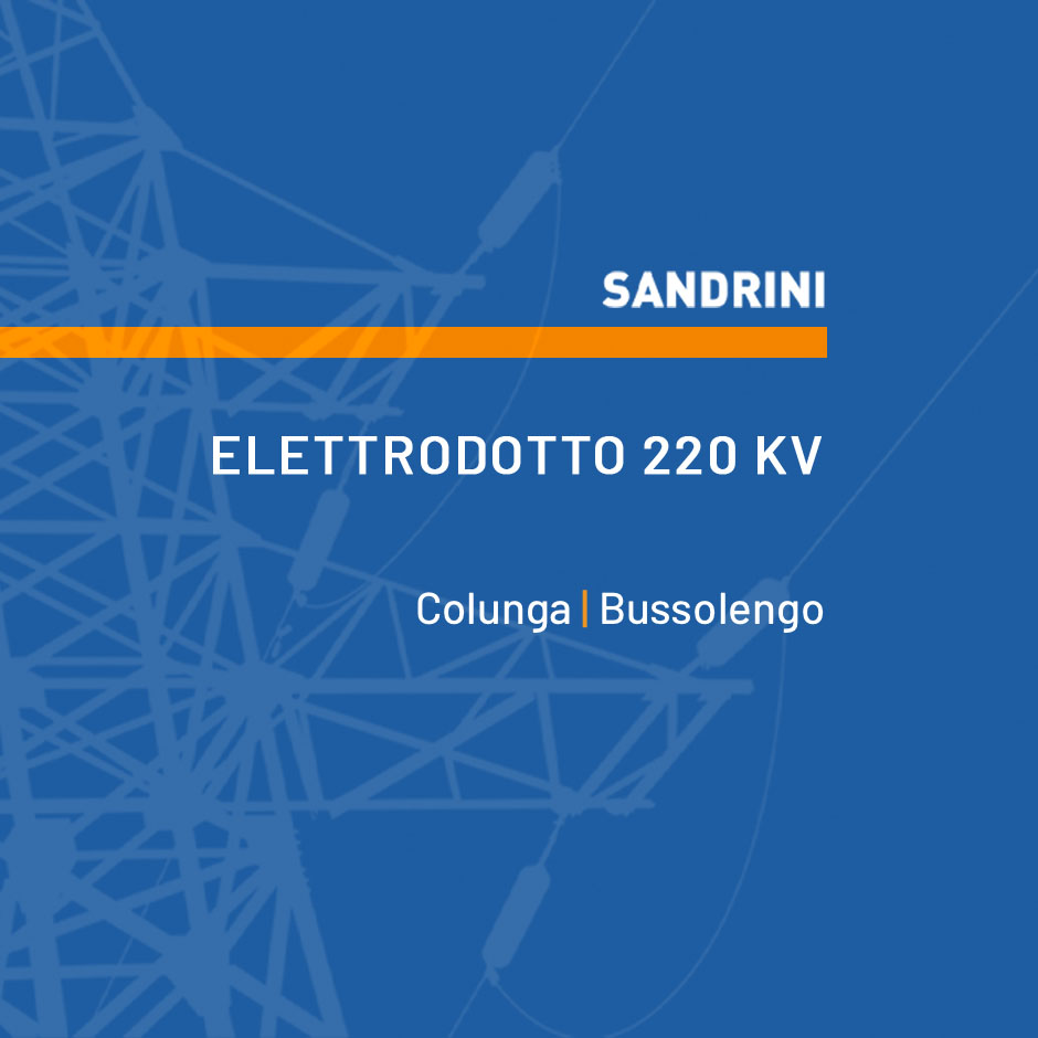 ELETTRODOTTO 220 kV T.22260B3 COLUNGA - BUSSOLENGO