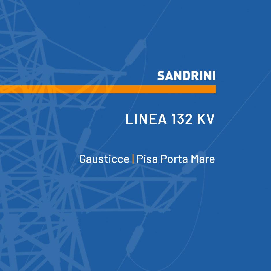 LINEA 132 kV n.520C1 PISA PORTA A MARE - GAUSTICCE