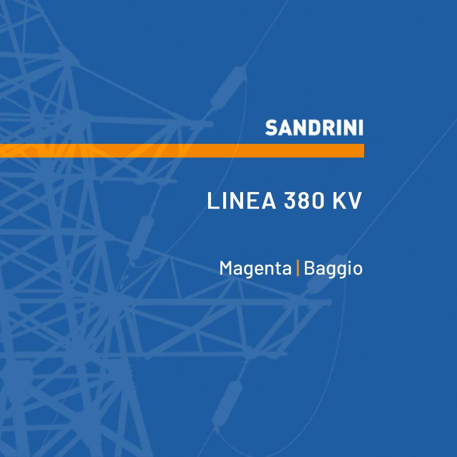 RACCORDI DELLA NUOVA SEZIONE 380 kV DI MAGENTA ALLA LINEA 380 kV TURBIGO – BAGGIO